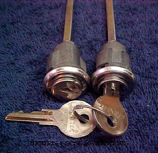 Sell new replacement door locks with keys 1942 1946 1947 for 1950 door knobs
