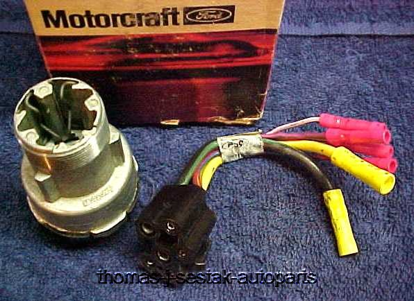 Nos Ignition Switch  U0026 Wire Pigtail Ford  U0026 Mustang  U0026 Shelby