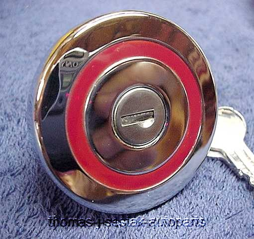Chrome Locking Gas Cap Gm Cadillac 59 60 61 62